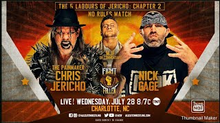 #AEW #AEWFightForTheFallen AEW Fight for the Fallen Review & Highlights   Chris Jericho Vs Nick Gage