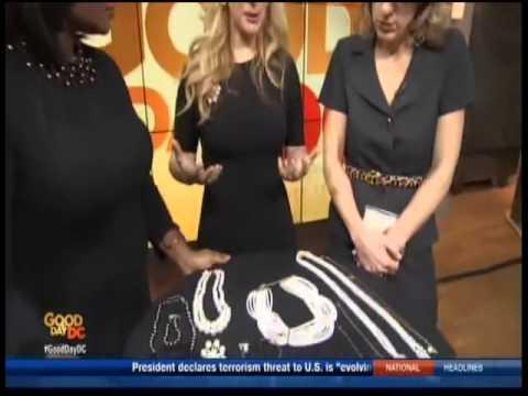 Consuelo Vanderbilt Costin Discusses Homage Jewelry On Good Day DC