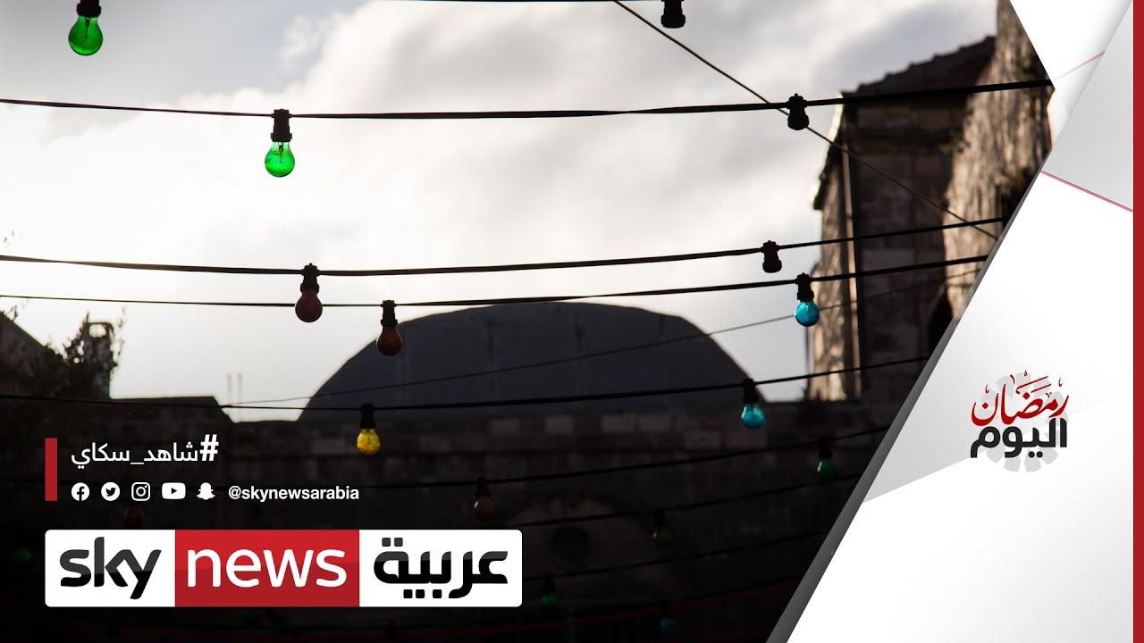 كيف يعمل باعة -زينة رمضان- في أسواق المدن الفلسطينية؟   #رمضان_اليوم