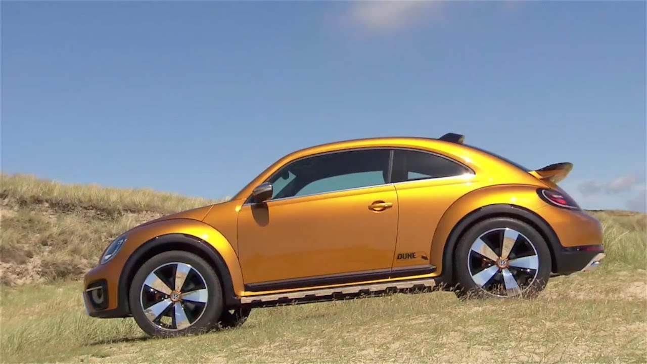 Volkswagen Beetle Dune Concept Trailer Youtube