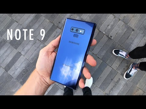 Samsung Galaxy Note 9 Hands On | Unpacked 2018 Vlog