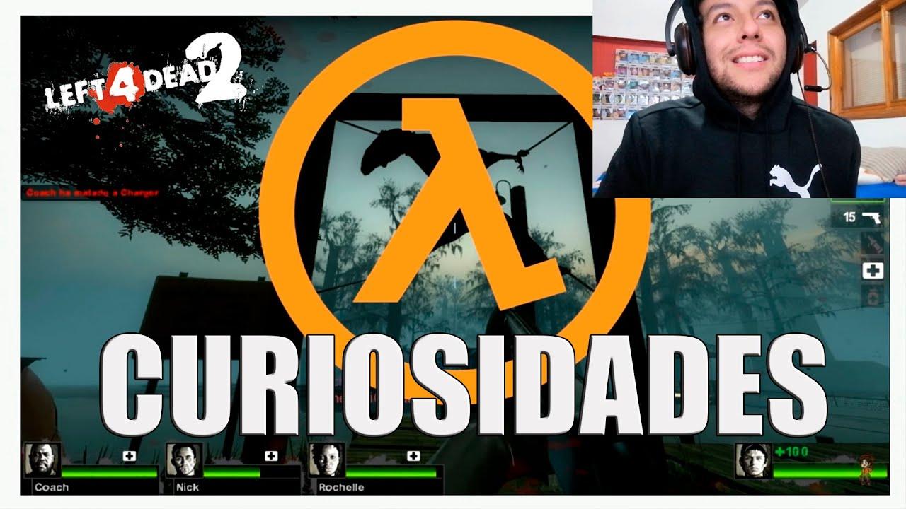 VIDEO REACCION Curiosidades de Left 4 Dead 1 y 2 parte 1 (FUNNY MOMENTS L4D2 #1)