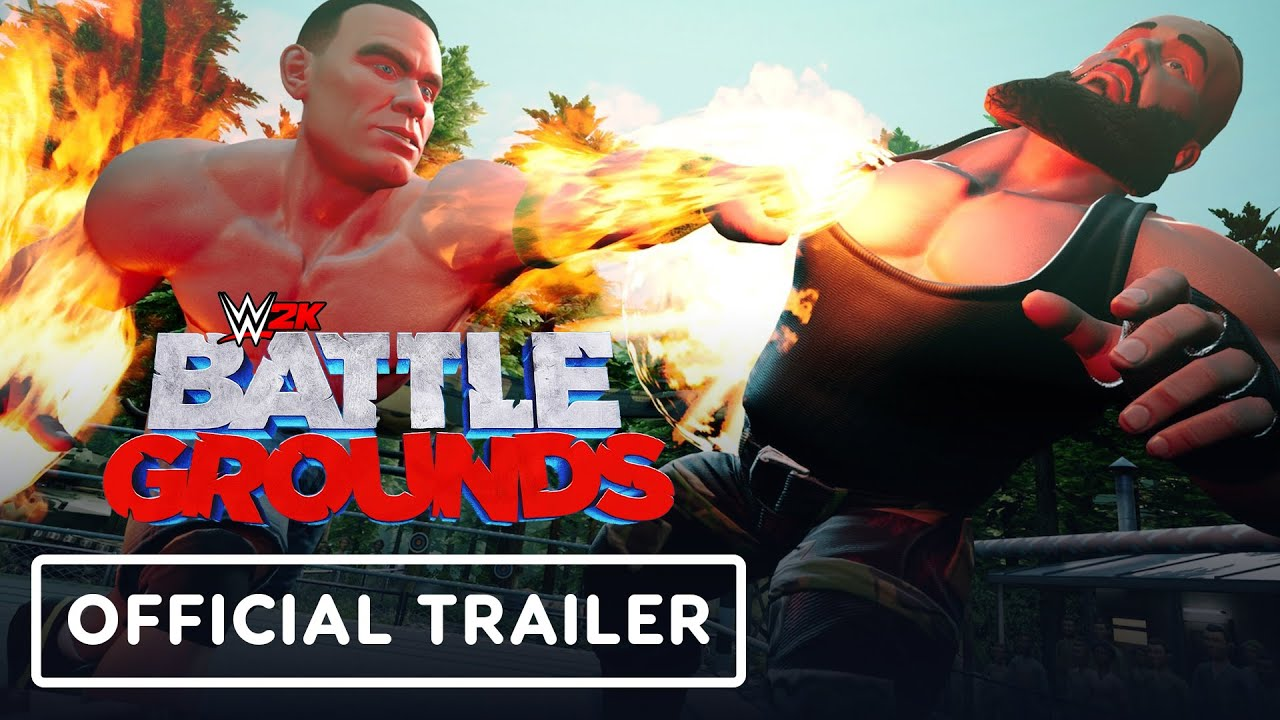 WWE 2K Battlegrounds - Official Trailer - IGN