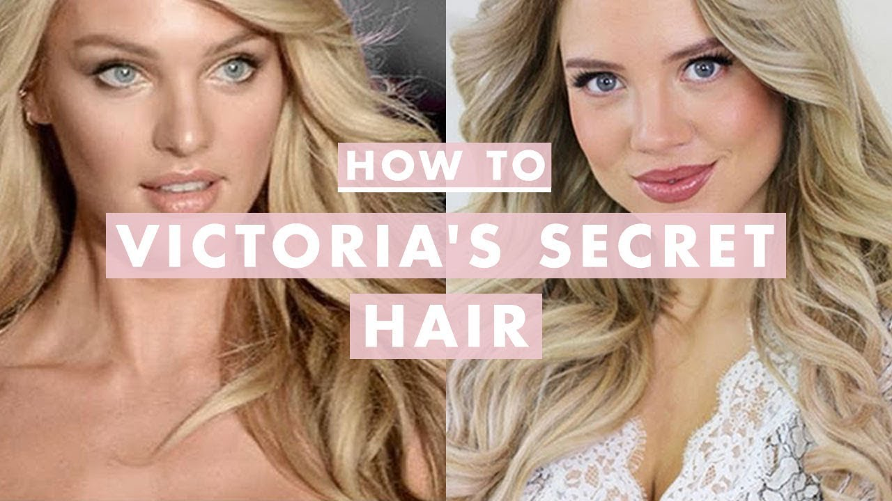 how to get victoria's secret hair | fashion show runway waves
