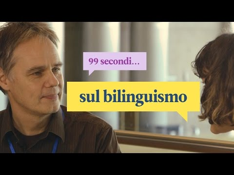 99 secondi sul bilinguismo | Polyglot Conference