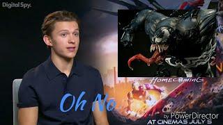 Tom Holland spoiled about Venom Movie