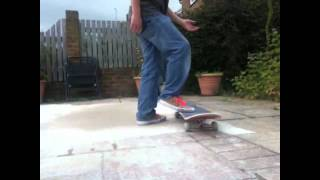 Varial Kickflip Skate Support