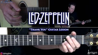 Thank You Guitar Lesson - Led Zeppelin