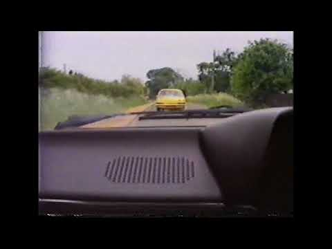 Newbury.Berkshire. Driving Monks Lane, Pinchington Lane.  June 1986