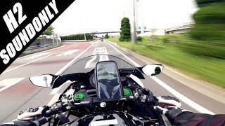 vuclip KAWASAKI Ninja H2 Stock Exhaust in Japan