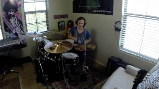 """Three Days Grace """"Animal I Have Become"""" a drum cover by Emily"""