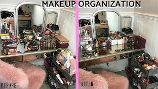 HOW TO ORGANIZE YOUR MAKEUP/ jamie step