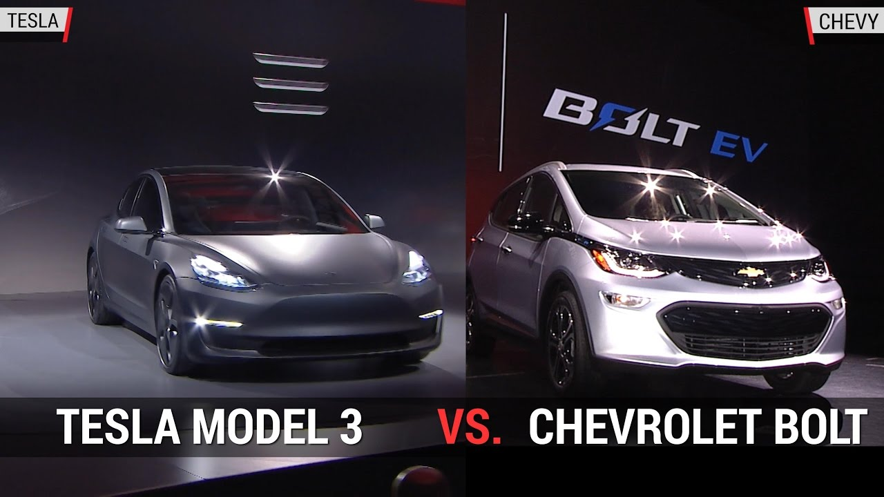 Awesome Tesla Model 3 Vs Chevy Bolt Pic Interior