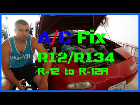 AC Doesn't Work - How to Fix A/C without R-12 Refrigerant ? R-12A?