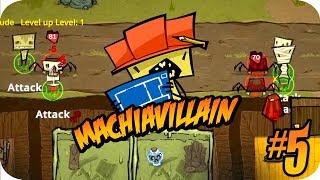 MachiaVillain Gameplay #5 Radioactive Spiders Attack