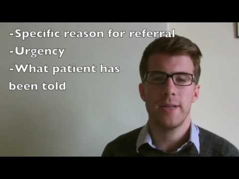 How To Write A Medical Referral Letter