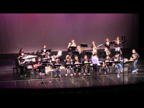 Boulan Park Middle School Jazz Band at MSBOA State Jazz Festival Mar 30 2016