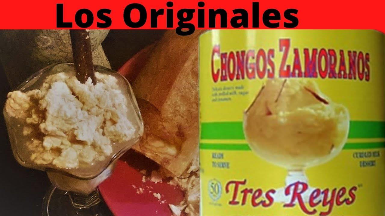 Famosos Chongos Zamoranos Originales Receta, #COCINANDOENCASAHOY COCINANDO  EN CAS HOY - YouTube