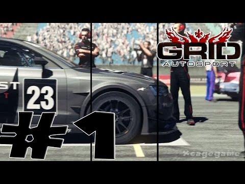 GRID Autosport - Career Walkthrough Gameplay Part 1 [ HD ]