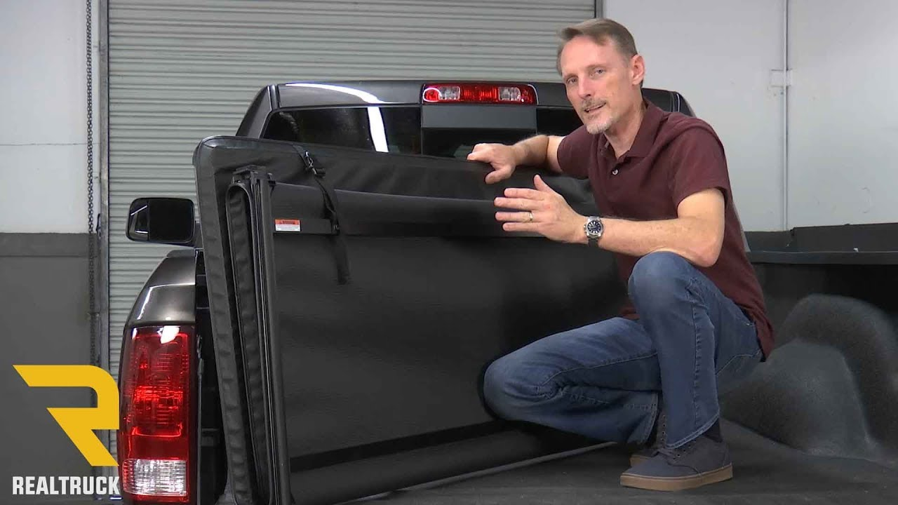 How To Install Gator Tri Fold Pro Tonneau Cover On A 2017 Dodge Ram 2500 Youtube