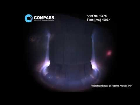 Incredible video from inside a fusion reactor   Daily Mail Online