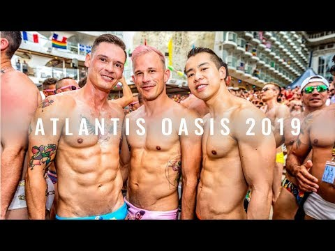 Atlantis Oasis 2019 Mediterranean #Gay #Cruise | JustJoeyT #Travel