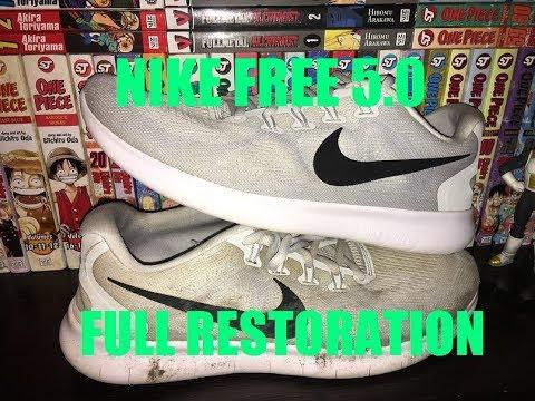 NIKE FREE 5.0 DEEP CLEANING (THE RETURN)
