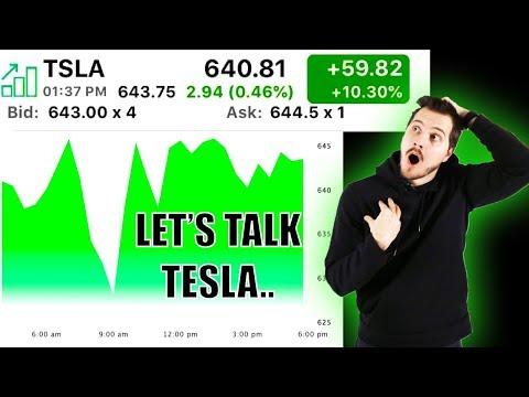 Tesla Stock Price Closes Over $640! My Opinion On Tesla Stock Price Move