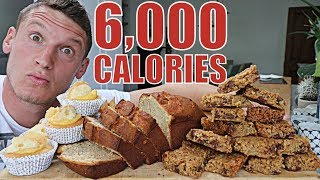 6,000 CALORIES | Full Day of Eating | Cheat Day