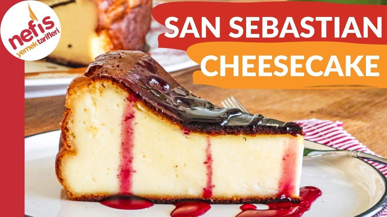 Son Zamanlarin Meşhur Tatlisi San Sebastian Cheesecake Tarifi