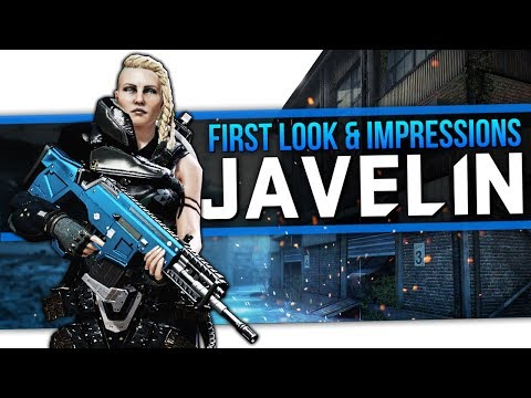 Dirty Bomb   First Look & Impressions - Javelin!