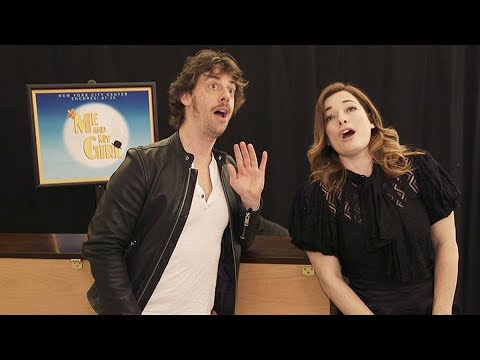 Christian Borle and Laura Michelle Kelly Reunite in Me and My Girl