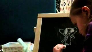 Как рисовать фею,Лиза(Как рисовать фею., 2015-11-29T10:52:37.000Z)