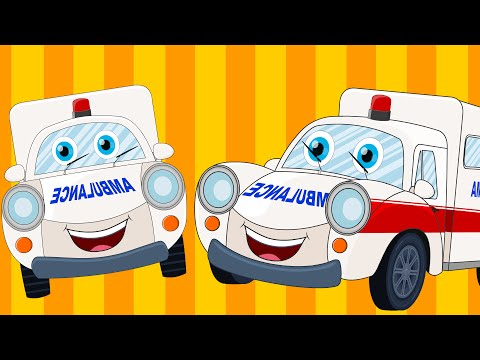 Ralph and rocky | Ambulance Song |Car Songs And Rhymes | Vehicle Songs