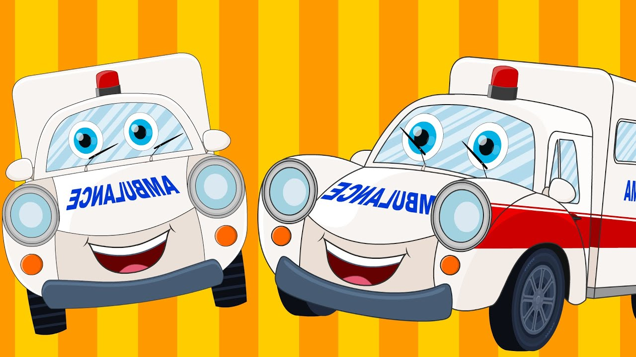 happy and sweety ambulance song car songs and rhymes vehicle songs youtube