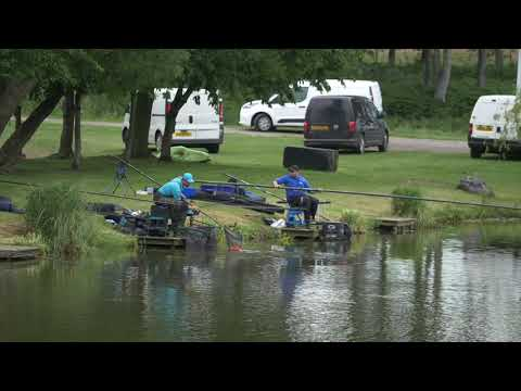 UK Angling Championship 2019 - Rd 2 Hayfield Lakes -Match Fishing - On The Bank - Cresta Gamakatsu