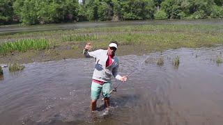 Fishing Tidal Water for Bass - Chesapeake Bay Bass Fishing Trip
