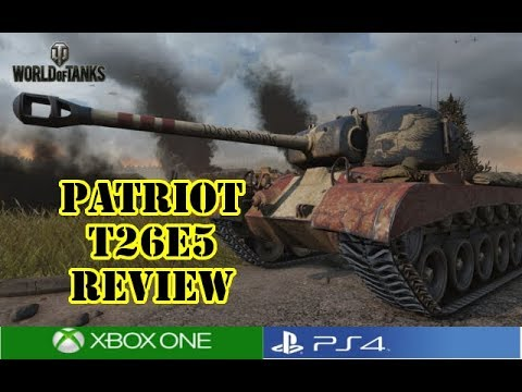 World of Tanks - Patriot T26E5 Review