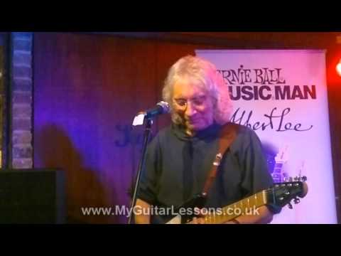 Albert Lee talks about playing with Joe Cocker and Chas & Dave