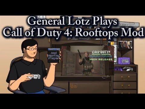 Call of Duty 4 Rooftops Mod