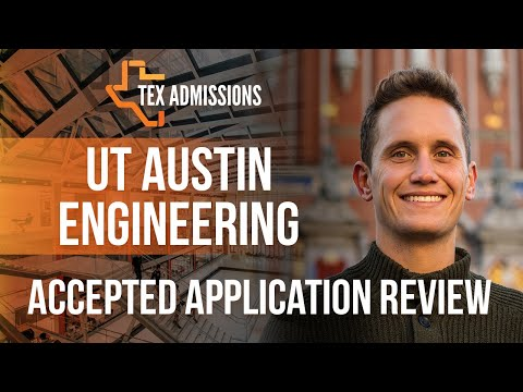 Admitted UT-Austin Aerospace Engineering Applicant File Review