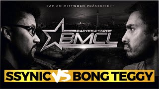 BMCL RAP BATTLE: SSYNIC VS BONG TEGGY - REMATCH (BATTLEMANIA CHAMPIONSLEAGUE)