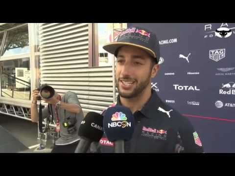 Daniel Ricciardo on Max  Verstappen promotion to RedBull Racing