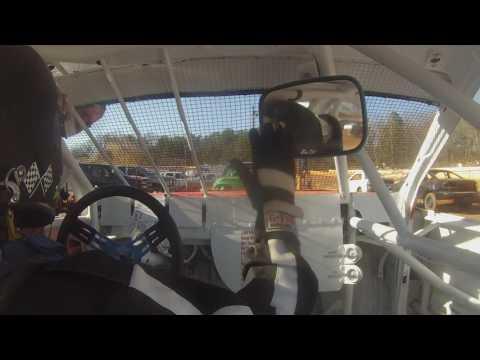 Cherokee Speedway Open Pratice #2 2-19-17 Alexus Motes