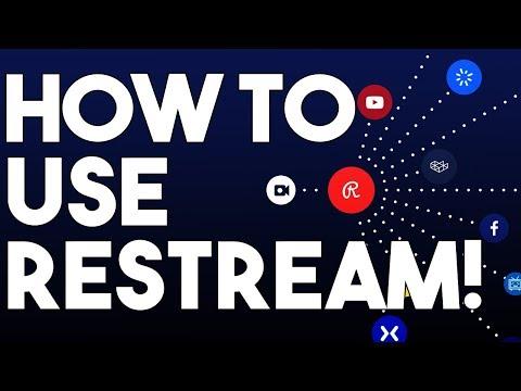 How To Setup Restream