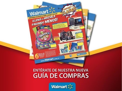 Catalogo walmart regreso a clases 2017 youtube for Catalogo bricoman elmas 2017