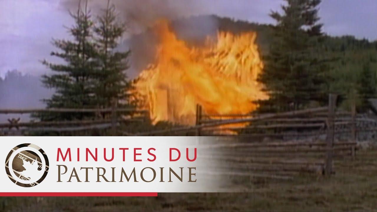 Minutes du patrimoine : Le grand feu du Saguenay
