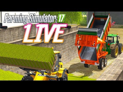 VALLEY OF THE OLD STREAM MAPS MULTIJOUEURS ! (FARMING SIMULATOR 17 LIVE)