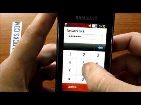 How To Unlock Samsung Star S5230 or Star Wifi S5230W by Unlock Code From UnlockLocks.COM