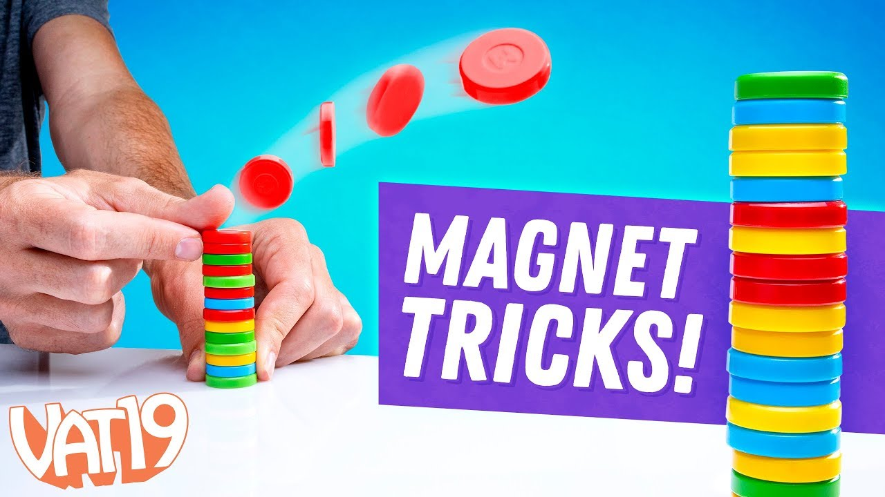 Amazing Magnet Trick Shots! (Magination)